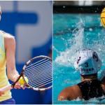 La Tchèque Karolina Pliskova (à gauche) a pris la tête du classement mondial du tennis féminin tandis que les poloïstes françaises ont très mal débuté leur Championnat du monde à Budapest ce week-end.