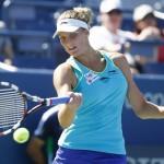 Karolina Pliskova devait atteindre la finale pour espérer conserver sa place de N°1 mondiale ; elle a été détrônée par l'Espagnole Garbine Muguruza.