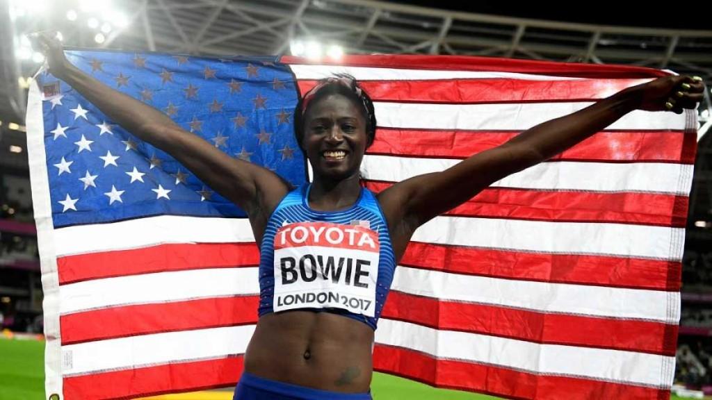 Tori Bowie sacrée sur 100 m