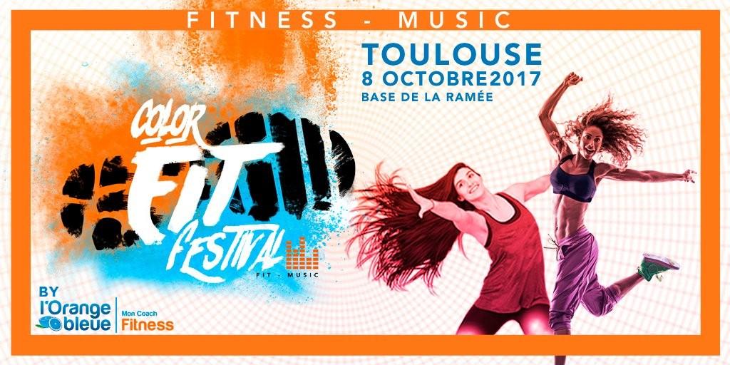 Le «Color Fit Festival by L'Orange Bleue» débarque à Toulouse