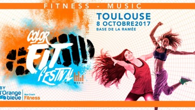Le « Color Fit Festival by L'Orange Bleue » débarque à Toulouse
