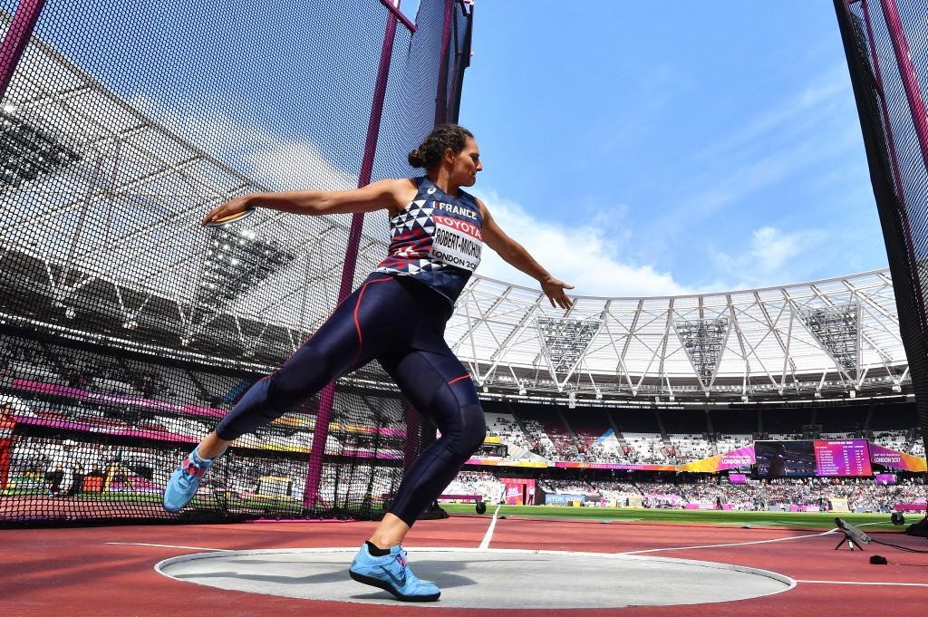 Mélina Robert-Michon élue athlète de l'année par les internautes