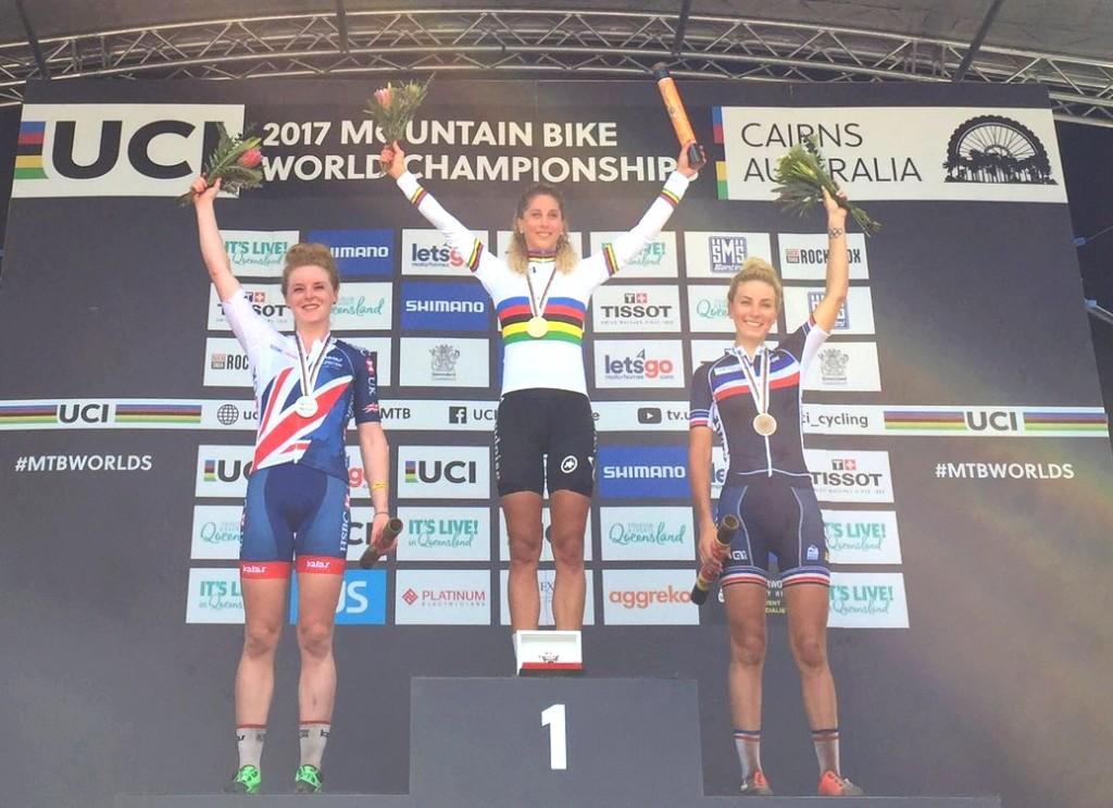Mondiaux VTT cross country : Pauline Ferrand-Prévot en bronze