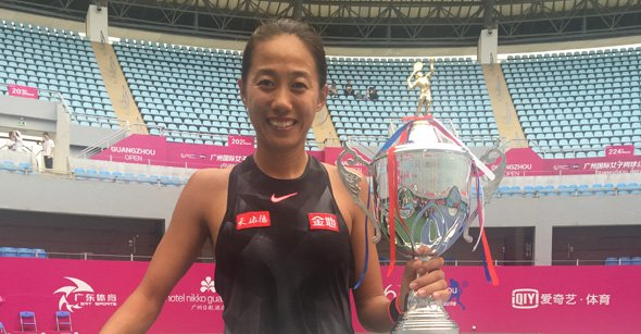 Zhang Shuai remporte le tournoi de Canton