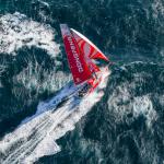 L'Équipage Dongfeng va passer 9 mois sur toutes les mers du monde. © E. Stichelbaut / Dongfeng Race Team.
