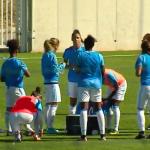 Les joueuses de l'Olympique de Marseille ont lancé le défi #ContrôleDeLaPoitrine sur les réseaux sociaux. Capture d'écran @OM.