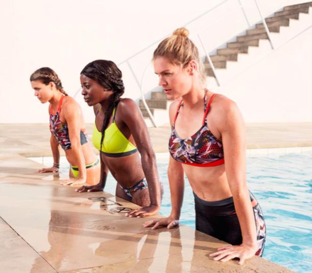 Speedo : pas question de laisser une nageuse au bord de la piscine !