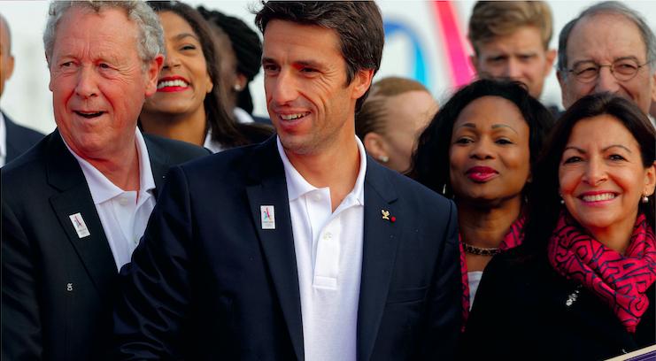 À propos des JO de Paris 2024 : « J'ai jeté toutes mes forces dans cette candidature aux côtés de notre capitaine Tony Estanguet» - Anne Hidalgo, maire de Paris.