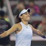 Tennis - China Open - Women's Singles Semifinals - Beijing, China - October 7, 2017 - Caroline Garcia of France