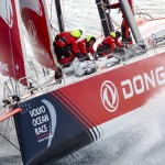 Les marins de Dongfeng sont arrivés fatigués à Melbourne, mais contents de leur 2e place sur l'étape ainsi qu'au classement général de la compétition.  © Benoit Stichelbaut / Dongfeng Race Team.