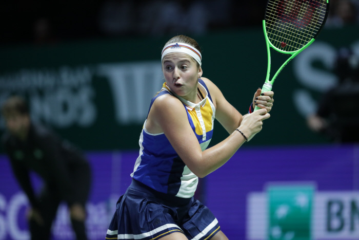 Masters : Ostapenko finit sur une victoire