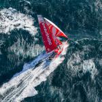 Dongfeng est actuellement 2e au classement général provisoire de la Volvo Ocean Race derrière les Espagnols Mapfre. Mais cette 6e étape pourrait être dangereuse pour le classement, selon le skipper du team Charles Caudrelier. © Eloi Stichelbaut / Dongfeng Race Team
