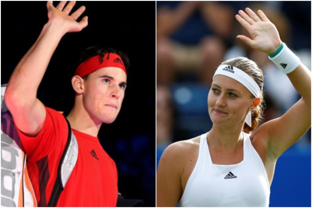 Kristina Mladenovic est en couple avec Dominic Thiem