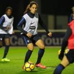 Equipe de France Féminine : l'arrivée des Bleues à Clairefontaine