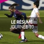 D1 Féminine, journée 10 : Tous les buts