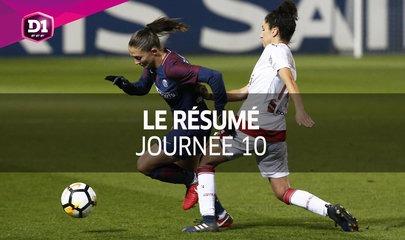 D1 Féminine, journée 10 : Tous les buts !