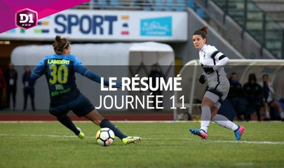 D1 Féminine, journée 11 : Tous les buts