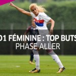 D1 féminine, top buts : phase aller