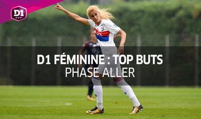 Le Top Buts de la D1 féminine (phase aller)