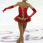 Alina Zagitova a réalisé l'exploit de détrôner sa compatriote et aînée Evgenia Medvedeva, invaincue depuis deux ans. © Luu