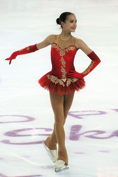 Alina Zagitova sur le toit de l'Europe à 15 ans