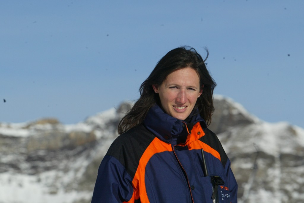 Blandine Vernardet, première femme directrice d'une station de ski dans les Pyrénées