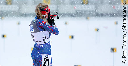 Biathlon : Eckhoff remporte le sprint d'Anterselva, Bescond 5e