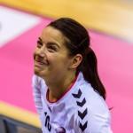 Avec Brest, Cléopâtre Darleux est déjà vice-championne de France en titre. © Kergourlay