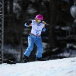 Cécile Hernandez-Cervellon est une spécialiste du para snowboard. © Photo Grégory Picout