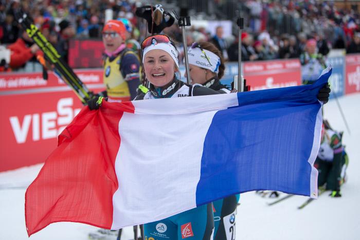 Biathlon : les Françaises matent les Allemandes en Allemagne !