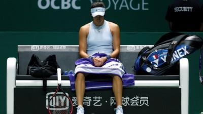 WTA Dubaï : Garcia tombe encore en quarts face à Muguruza
