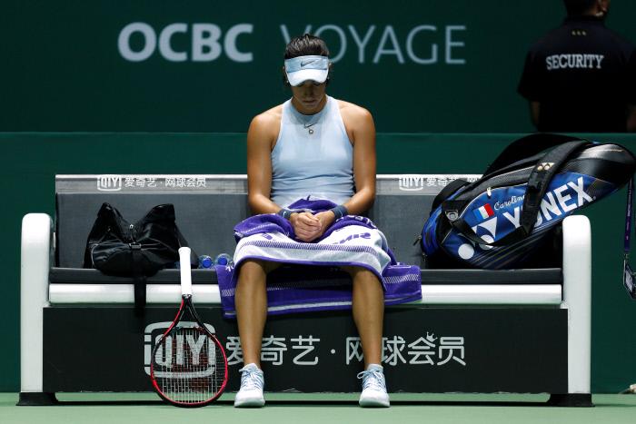 WTA Dubaï : Garcia tombe en quarts face à Muguruza