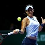 Caroline Garcia, N°7 mondiale, s'est qualifiée pour les huitièmes de finale.
