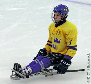 Le para hockey sur glace sur l'une des 6 disciplines au programme des Jeux Paralympiques de PyeongChang. Il comprendra qu'une seule épreuve, mixte. © ID1974 / Shutterstock.