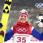 Maren Lundby remporte son premier titre olympique.