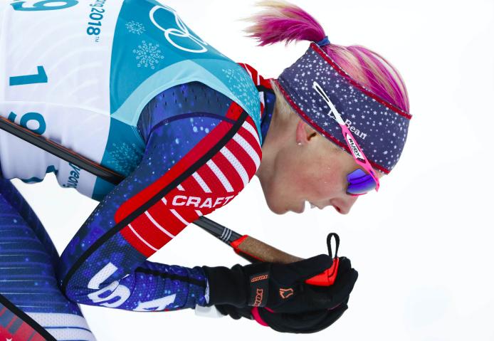 L'Américaine Randall, championne olympique de ski de fond à PyeongChang, entre au CIO