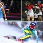 Ce week-end, le tournoi des VI Nations féminin, la Fed Cup et les sportives françaises engagées sur les JO de PyeongChang ont été mises à l'honneur par les médias français.