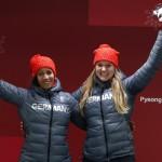 Les Allemandes Mariama Jamanka et Lisa Buckwitz ont remporté l'or sur le fil !