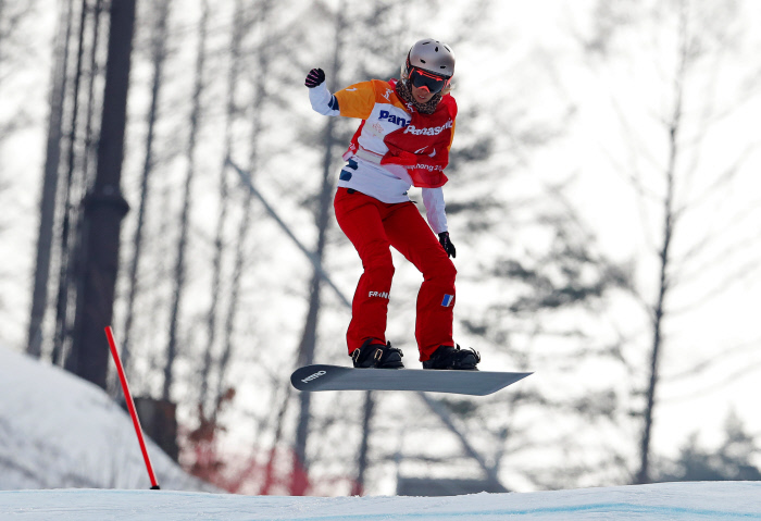 [PyeongChang 2018] Cécile Hernandez-Cervellon décroche le bronze en para snowboardcross