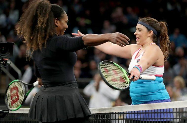 Marion Bartoli signe son come-back face à Serena Williams