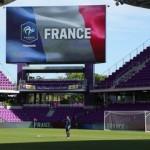 Equipe de France Féminine : entraînement avant France-Allemagne