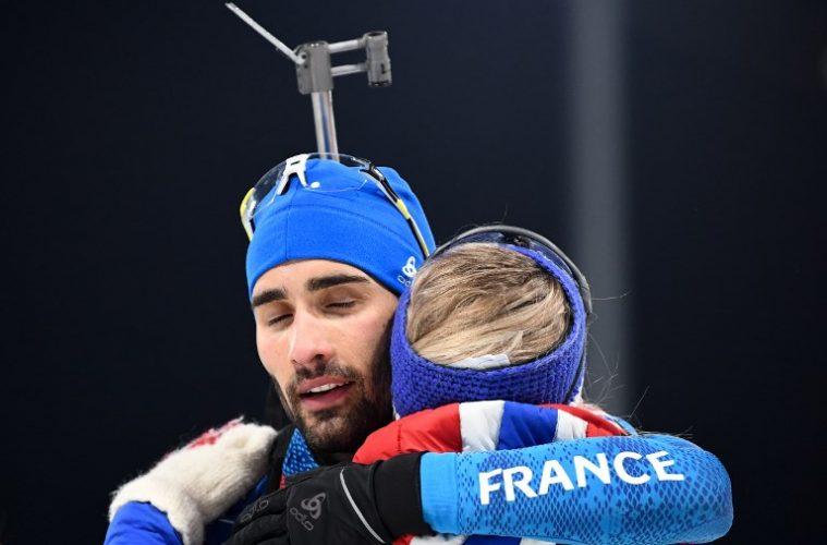 [PyeongChang 2018] Les biathlètes français remportent la médaille d'or du relais mixte