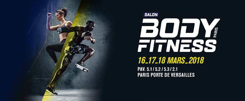 Le salon Body Fitness Paris 2018 approche !
