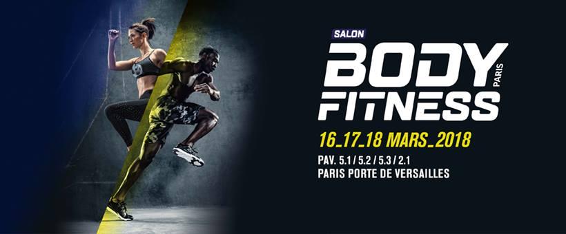 Le salon Body Fitness Paris 2018 approche !