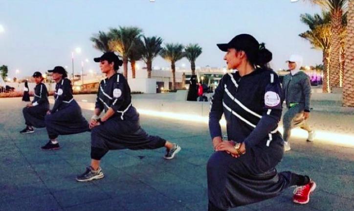 L'abaya sportive, le vêtement à la mode en Arabie Saoudite