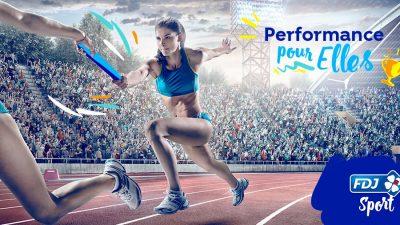 FDJ lance son appel à projets «Performance pour Elles»