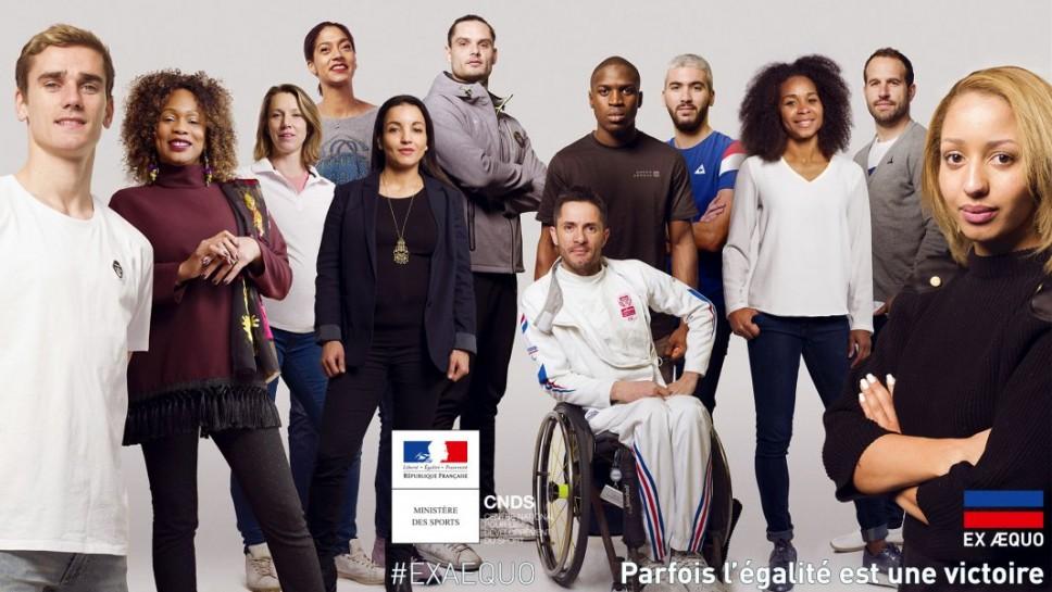 Laura Flessel lance «Ex Aequo», une campagne de communication contre les discriminations dans le sport