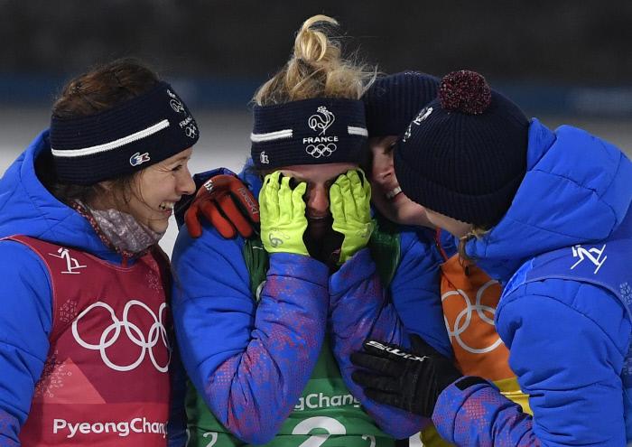 [PyeongChang 2018] Biathlon : les Bleues en bronze en relais