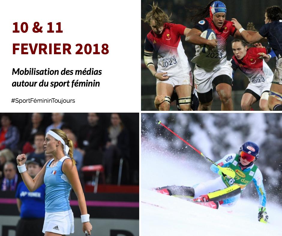 Les médias se mobilisent autour du sport féminin