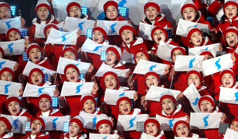 [PyeongChang 2018] La chorégraphie des pom-pom girls nord-coréennes fait le buzz